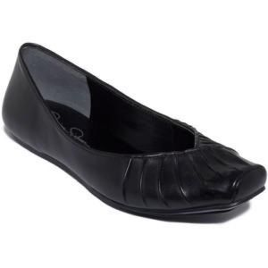 Jessica Simpson Emmly Pleated Ballet Flat LIKE NEW